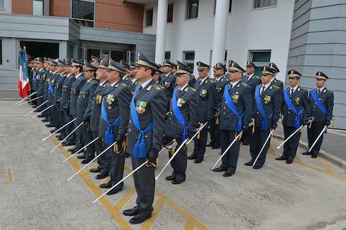Guardia di Finanza, celebrato il 241esimo anniversario della fondazione del Corpo
