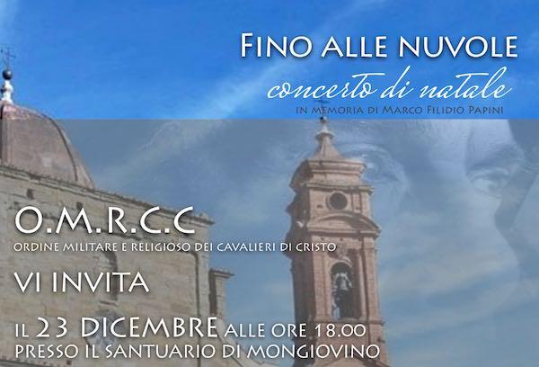 """Concerto """"Fino alle Nuvole"""" al Santuario della Madonna di Mongiovino"""