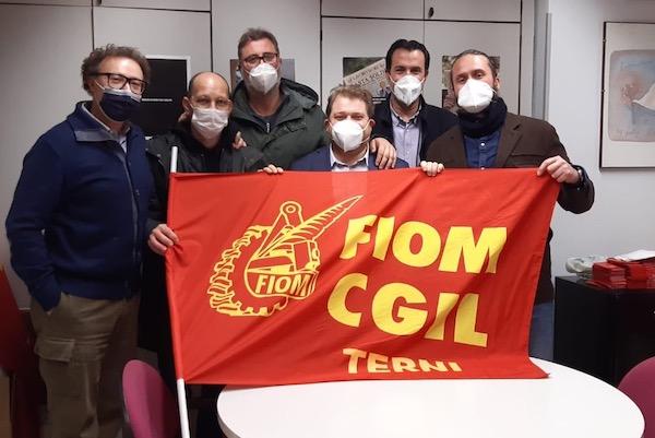 Fiom Cgil Terni, Daniele Moretti entra in segreteria