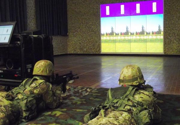 """""""Fire Arms Training System"""" per gli allievi marescialli del XX Corso """"Certezza"""""""