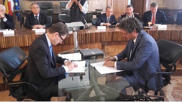 Sottoscritto il Patto per la sicurezza dell'Orvietano