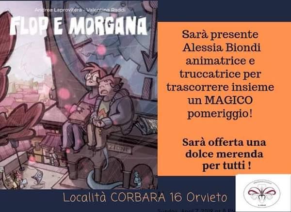 Graphic Novel di Andrea Laprovitera al Centro Culturale di Corbara