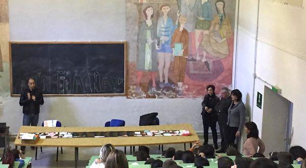 """""""Campioni in Cattedra"""", Alessio Foconi incontra l'IC """"Luigi Barzini"""""""