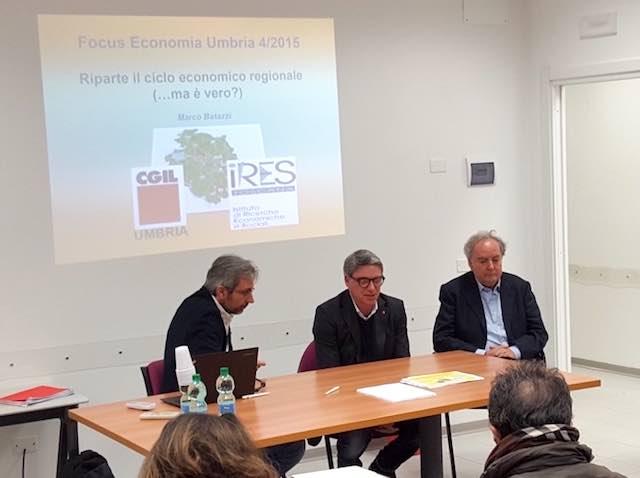 """Ires Cgil presenta il nuovo rapporto sull'economia regionale: """"Ripresa? Sì, ma da dove siamo partiti?"""""""