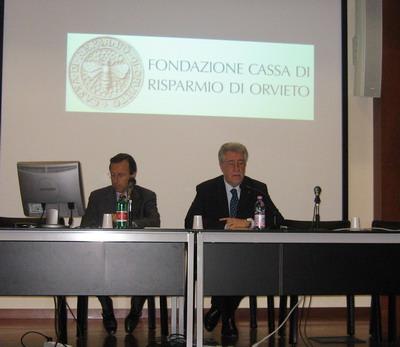 Presentato il bilancio dell'esercizio 2009 della Fondazione CRO. Istituite dall'Ente cinque borse di studio
