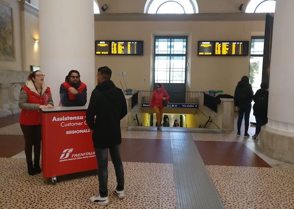 Alla stazione di Fontivegge il primo customer dedicato ai regionali
