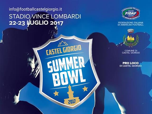 Summer Bowl 2017, al Vince Lombardi torna il Football Americano