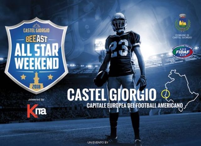 Sull'Alfina torna il Football Americano con l'All Star Weekend