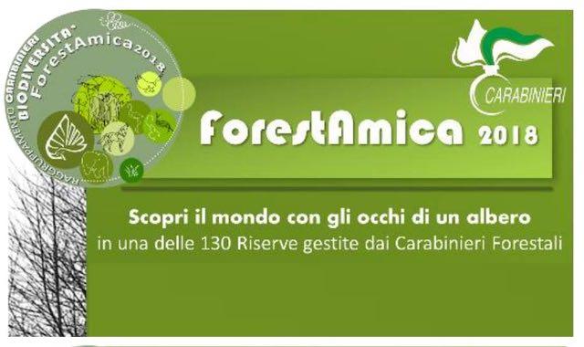 """""""ForestAmica"""" alle Saline. Apertura straordinaria con i Carabinieri Forestali"""