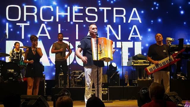 Foscoli e l'Orchestra Italiana Bagutti danno spettacolo, con il cuore ad Amatrice