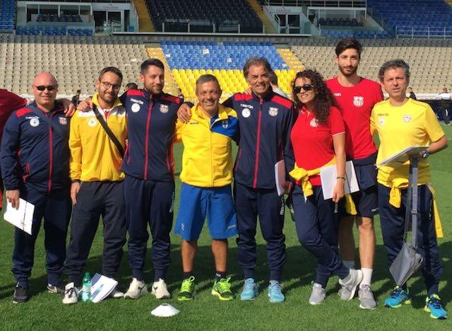 Tecnici dell'Orvieto FC alla Parma Academy per un weekend di aggiornamento
