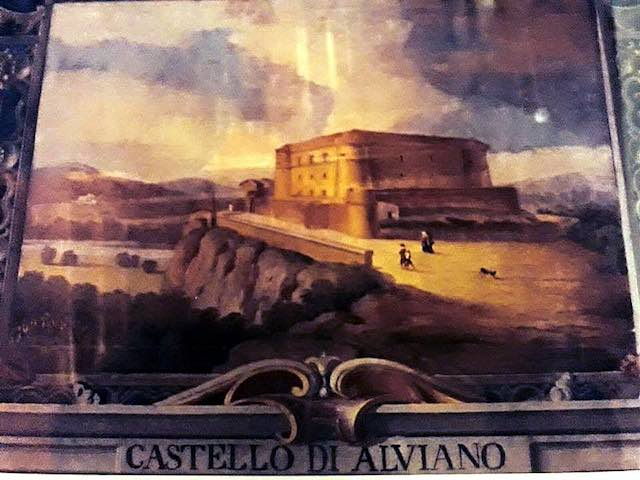 Jonathan Doria Pamphili dona al Comune una foto dell'antico affresco del Castello
