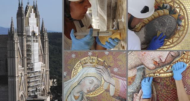 """""""Così il Duomo è tornato a splendere"""". Presentato il restauro dei mosaici della facciata"""