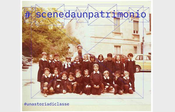 """""""Una storia di classe"""" nella scuola pre Covid. Foto di gruppo, """"Scene da un patrimonio"""""""