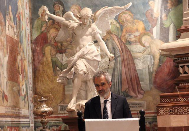 """""""Osservazioni delle rovine"""". Conferenza Rotary in Duomo con Francesco Scoppola"""