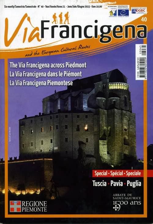"""Si presenta il nuovo numero della rivista """"Via Francigena and the European Cultural Routes"""""""
