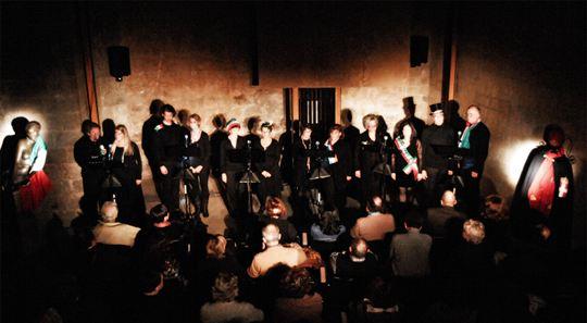 Fratelli D�Italia. Anticelebrazione patriottica di Nicola Fano per Enrica Rosso: gli ideali dell'Italia e il tradimento dell'oggi