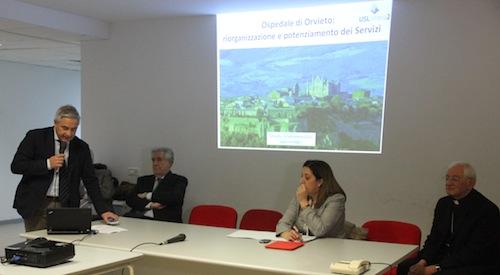 L'Ospedale di Orvieto presenta la riorganizzazione e il potenziamento dei servizi