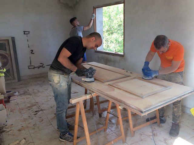 A nuovo la chiesa di Frattuccia e i locali del catechismo grazie ai volontari