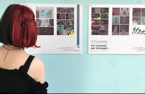 In mostra il fumetto 1° Premio ABC