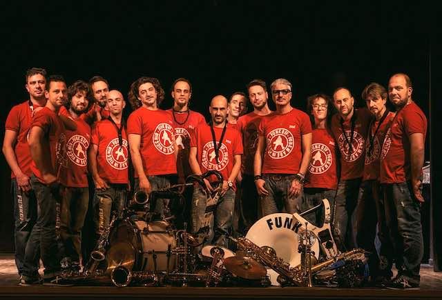 Manciano Street Music Festival apre con il concerto dei Funk Off