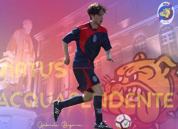 Asd Virtus Acquapendente sconfitta per 3 a 1. Lampo-goal di Gabriele Bigerna