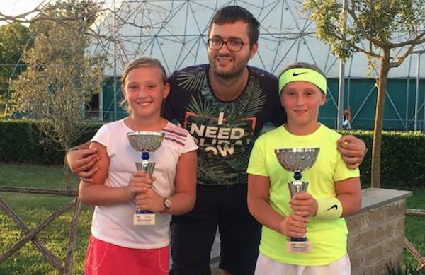 Maria Chiara e Caterina Bastianini, le gemelle del tennis