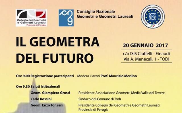 """""""Il geometra del futuro"""". Incontro all'Istituto Ciuffelli-Einaudi"""