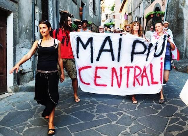 Un intero territorio contro la centrale geotermica di Latera