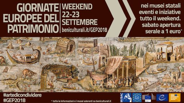 Giornate Europee del Patrimonio 2018. Gli eventi del Polo Museale dell'Umbria