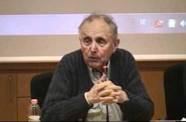 Lo psicologo Gerard Lutte compie 90 anni. Lezione all'Università degli Educatori