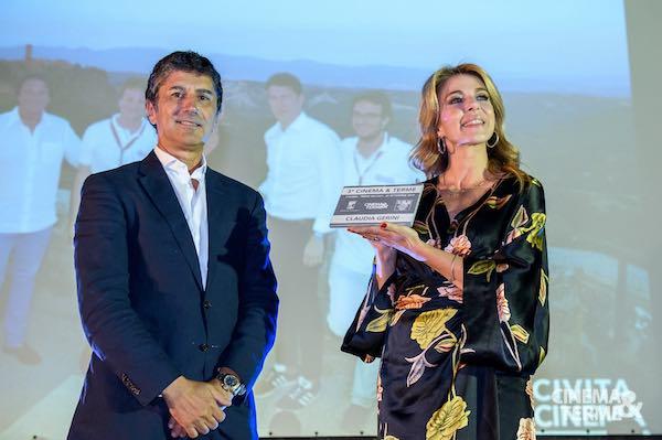 "Claudia Gerini, affascinante ospite di ""Cinema&Terme"""