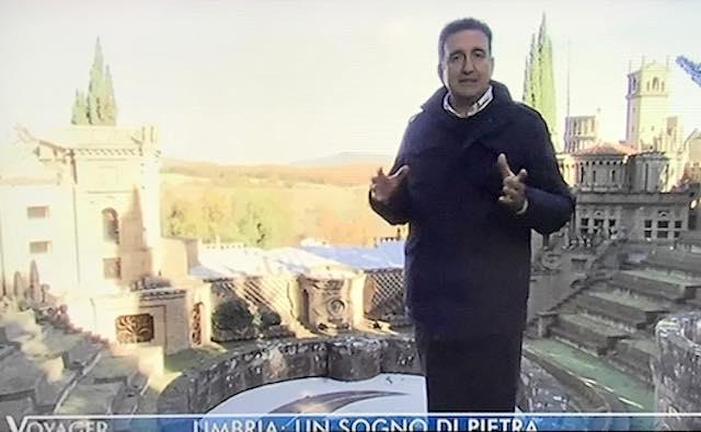"""La Scarzuola su """"Voyager"""", Monte Peglia e San Casciano dei Bagni su """"Linea Verde"""""""