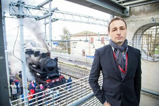 """Lo """"slow-travel"""" del treno a vapore di Gianni Morcellini: dalle pagine di """"Signori in carrozza!"""" alla stazione di Fabro-Ficulle"""