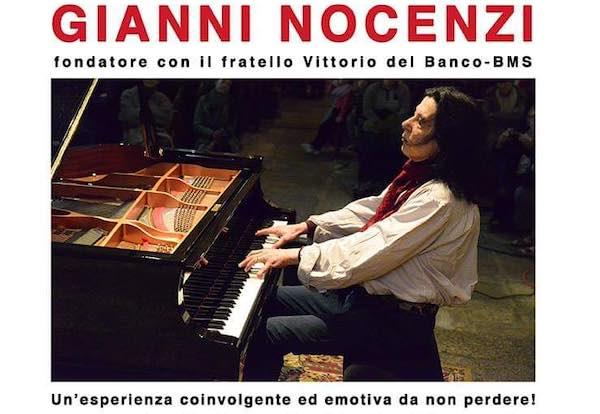 Gianni Nocenzi in concerto al Teatro Spazio Fabbrica