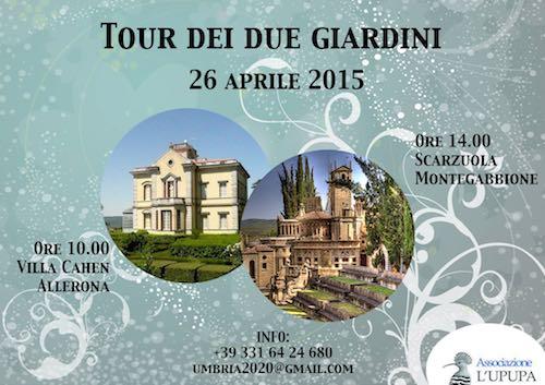 Visita ai giardini di Villa Cahen e la Scarzuola