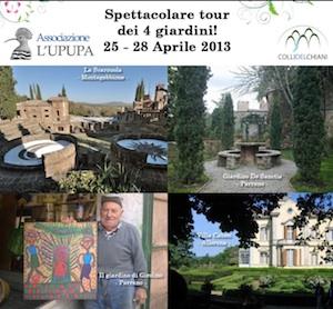 Un tour fra i giardini dell'orvietano