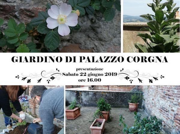 Apre il Giardino di Palazzo Corgna. Visite al Museo di Storia Naturale e del Territorio