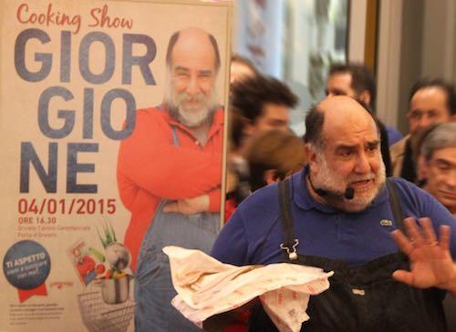 """""""Giorgione: orto e cucina"""". Libro e cooking show a Orvieto per l'oste del Gambero Rosso"""