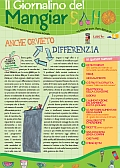 """In distribuzione nelle scuole orvietane il 5° numero del """"Giornalino del mangiar sano"""""""