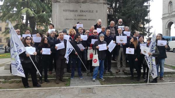 Giornalisti in piazza anche in Umbria per difendere l'articolo 21