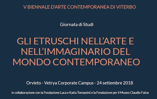 """""""Gli Etruschi nell'arte e nell'immaginario del mondo contemporaneo"""""""