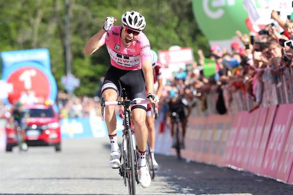"""Giro d'Italia in Maremma, Bulgarini: """"Mancianesi, tingetevi di rosa"""""""