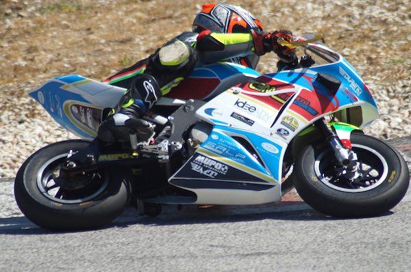 Giulio Basili, con la MiniGP, fa il suo rientro nel Campionato
