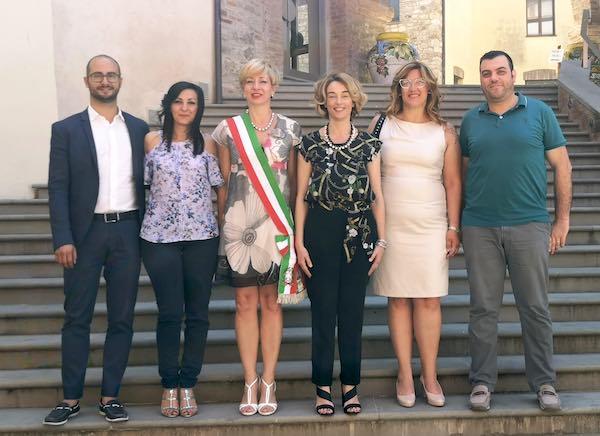 Al lavoro la giunta del sindaco Francesca Mele