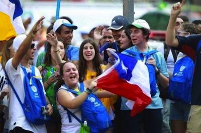 Happy hour con i giovani di Rio e di Assisi