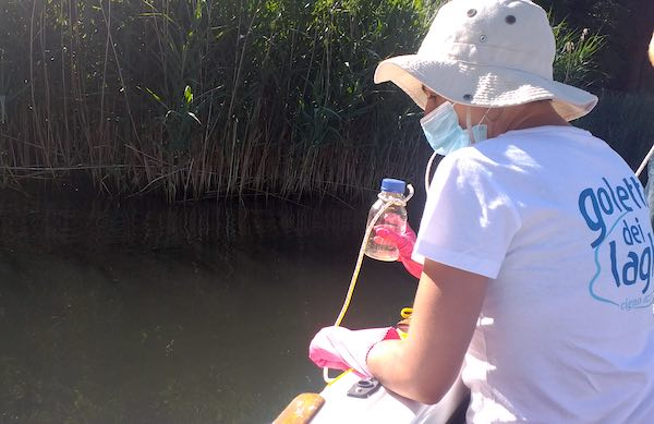 Un solo punto fortemente inquinato tra quelli monitorati dalla Goletta dei Laghi