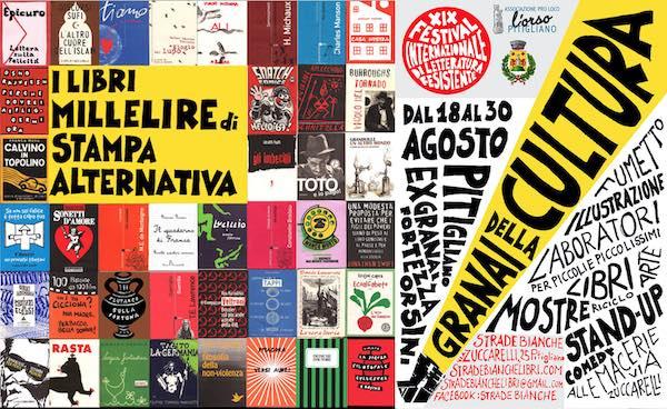"""A """"Granai della Cultura"""", tra i """"Millelire"""" di Stampa Alternativa e fumetti resistenti"""