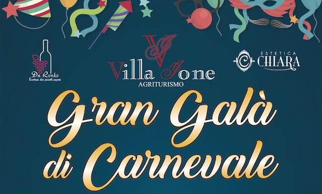 """Tutti pazzi per i Cartoons a Villa Ione, arriva il """"Gran Galà di Carnevale"""""""