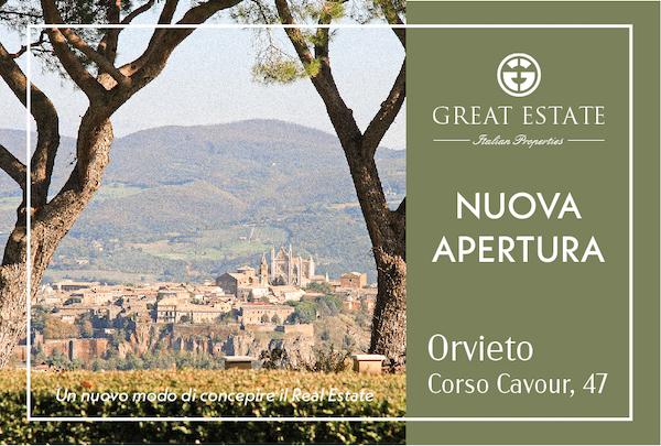 """""""Great Estate"""" annuncia l'apertura di una sede ad Orvieto"""